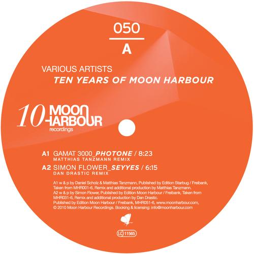 Album Art - Ten Years Of Moon Harbour Remixes