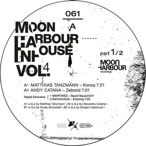 Album Art - Moon Harbour Inhouse Vol.4 Part 1/2