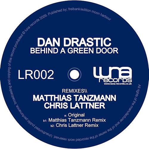 Album Art - Behind A Green Door