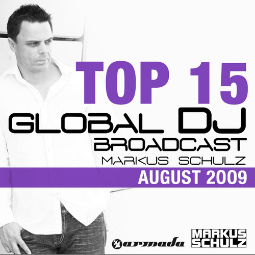 Album Art - Global DJ Broadcast Top 15 - August 2009