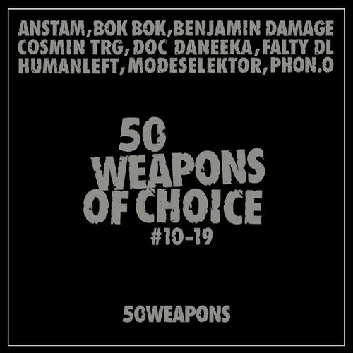 Album Art - 50 Weapons of Choice #10-19
