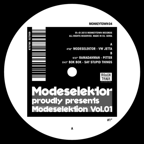 Album Art - Modeselektion Vol. 01 #1