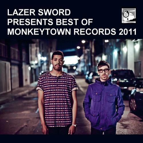 Album Art - Lazer Sword Presents Best Of Monkeytown Records 2011