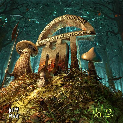 Album Art - Friends on Mushrooms, Vol. 2