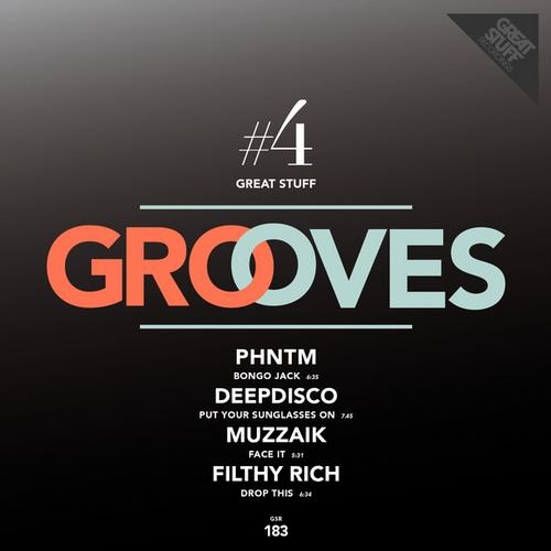 Great Stuff Grooves Vol. 4 Album Art
