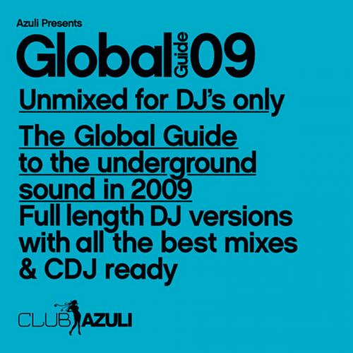 Album Art - Azuli Presents: Global Guide 2009 : Unmixed