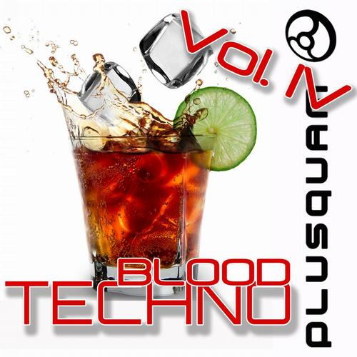 Album Art - Techno Blood Vol. 4
