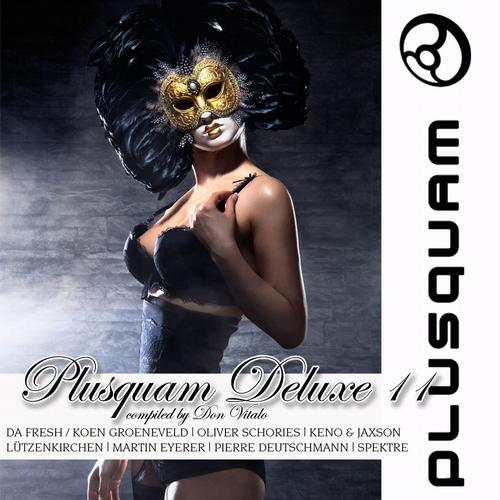 Plusquam Deluxe Vol. 11 Compiled By Don Vitalo Album Art