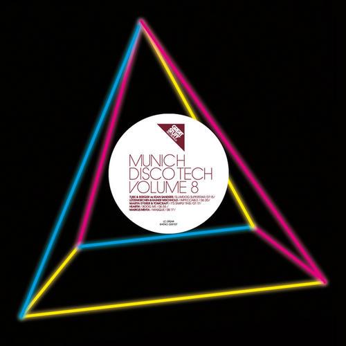 Album Art - Munich Disco Tech Vol.8