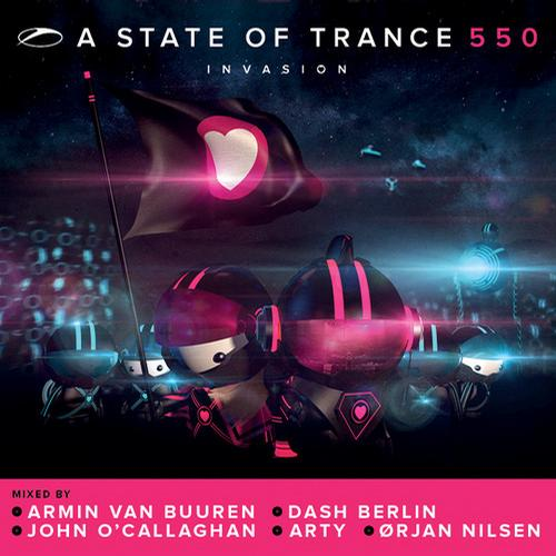 Album Art - A State Of Trance 550 - Mixed By John O'Callaghan