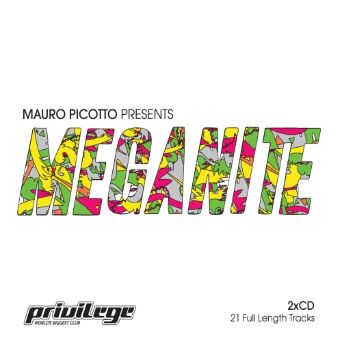 Album Art - Mauro Picotto Presents: Meganite