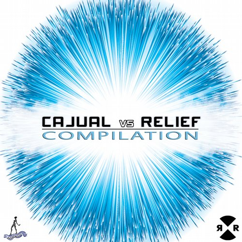 Cajual Vs Relief Compilation Album Art
