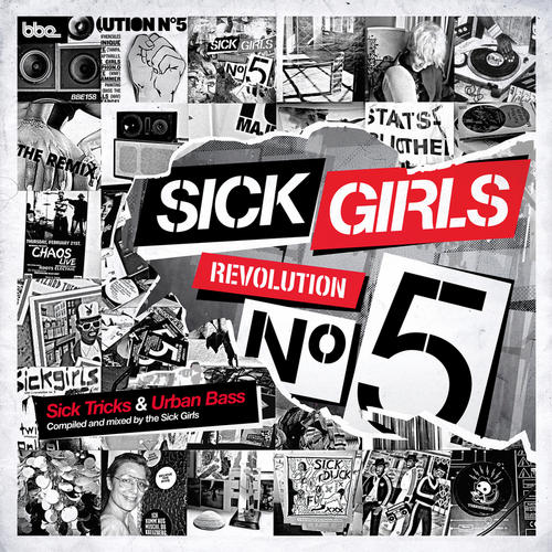 Album Art - Sick Girls - Revolution N°5 - Sick Tricks & Urban Bass