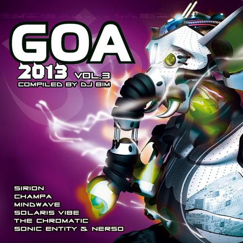 Album Art - Goa 2013, Vol.3 (Compiled by DJ Bim)