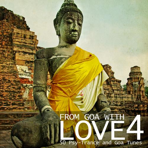 Album Art - From Goa With Love 4 - 50 Psy-Trance & Goa Tunes