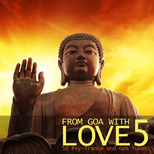 Album Art - From Goa With Love 5 - 50 Psy-Trance & Goa Tunes