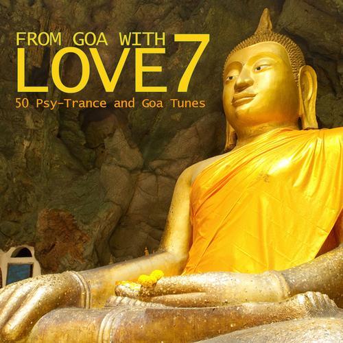Album Art - From Goa With Love 7 - 50 Psy-Trance & Goa Tunes