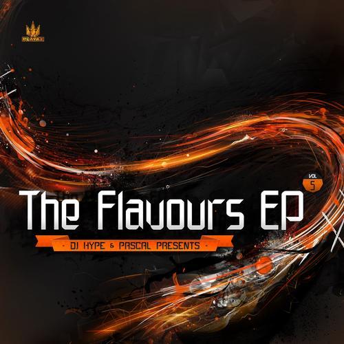 The Flavours EP, Vol. 5 Album Art