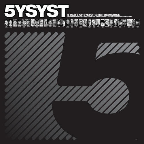 Album Art - 5 Years Of Systematic Recordings