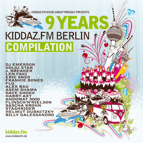 Album Art - 9 Years Kiddaz.FM Berlin Compilation