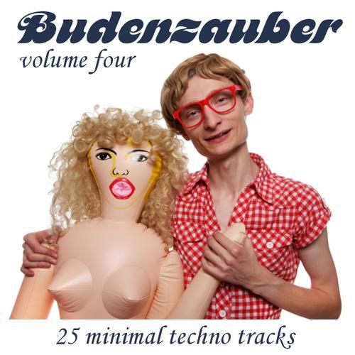 Album Art - Budenzauber Volume 4 - 25 Minimal Techno Tracks