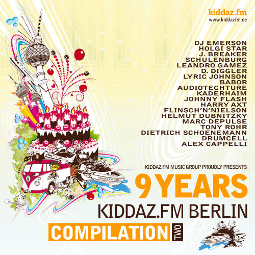 Album Art - 9 Years Kiddaz.FM Berlin Compilation 2