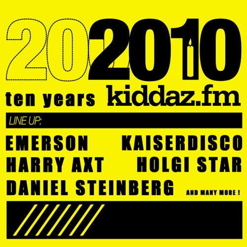 Album Art - 2010: 10 Years Kiddaz FM