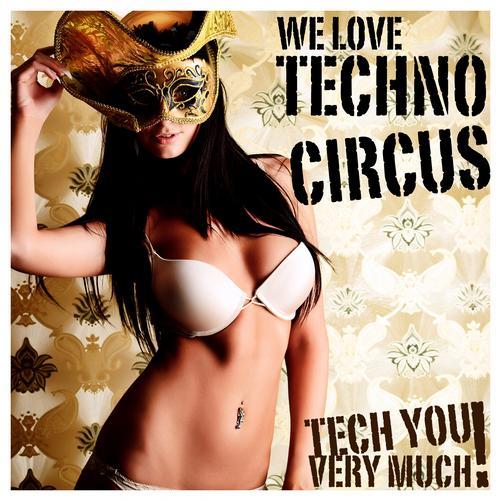 Album Art - We Love - Techno Circus