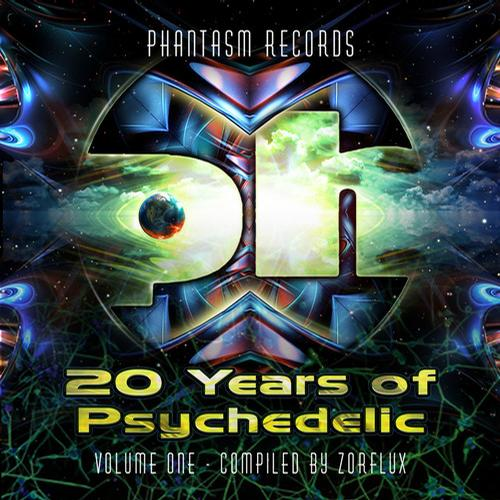 Album Art - 20 Years Of Psychedelic - Volume 1 - Compiled by Zorflux
