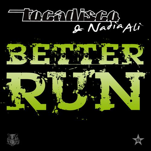 Album Art - Better Run - Taken from Superstar