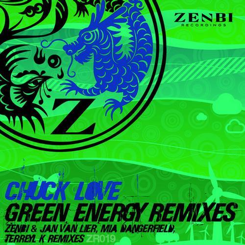 Green Energy Remixes Album Art