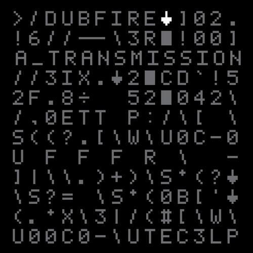 Album Art - Dubfire - A Transmission