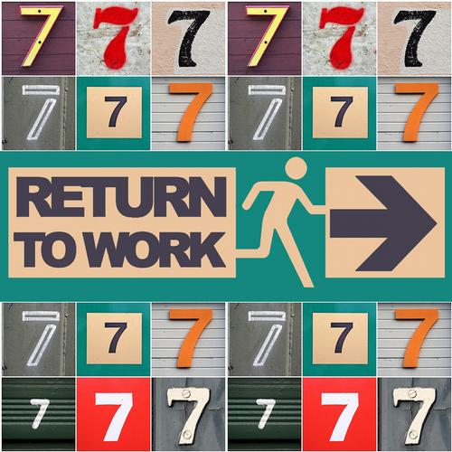 Album Art - V.A - Return To Work - 7 Years Old