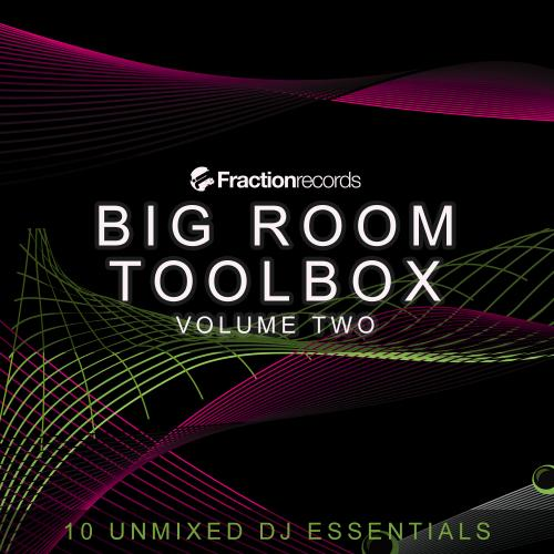 Album Art - Fraction Records, Big Room Toolbox Volume Two