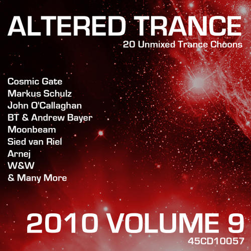 Album Art - Altered Trance 2010 Volume 9