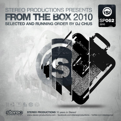 Album Art - From The Box 2010 - Selected & Running Order By DJ Chus