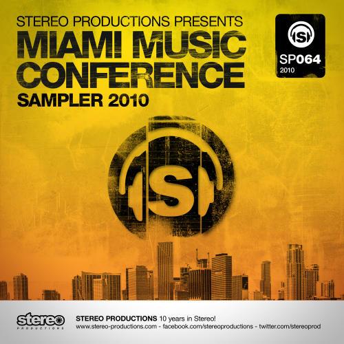 Album Art - Miami Music Conference Sampler 2010