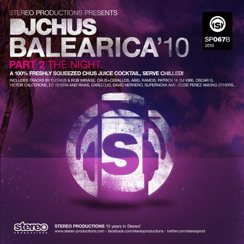 Album Art - DJ Chus presents Balearica 2010 Part 2 The Night