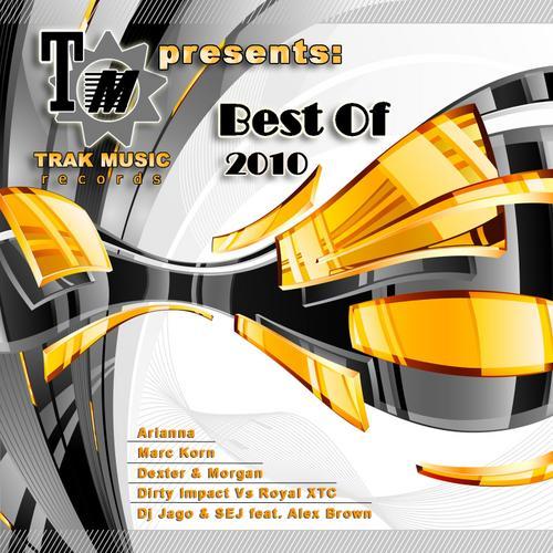 Trak Music Best Of 2010 Album Art