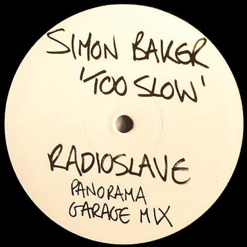 Album Art - Too Slow (Radio Slave Panorama Garage Remix)