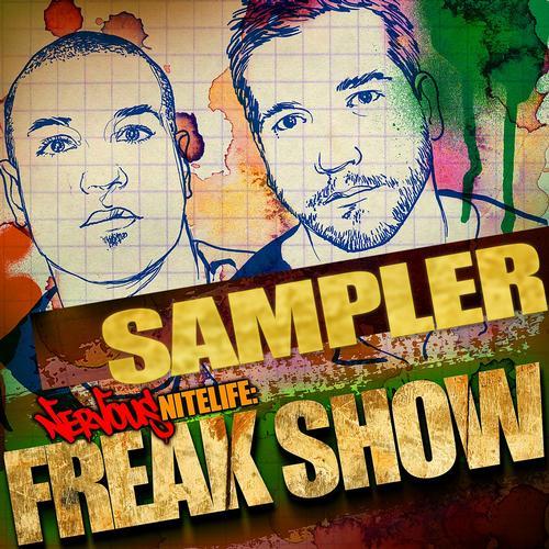 Album Art - Nervous Nitelife: Freak Show - Sampler