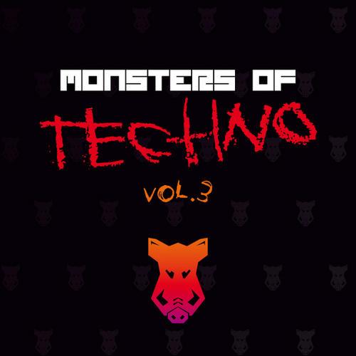 Album Art - Monsters Of Techno Volume 3 EP