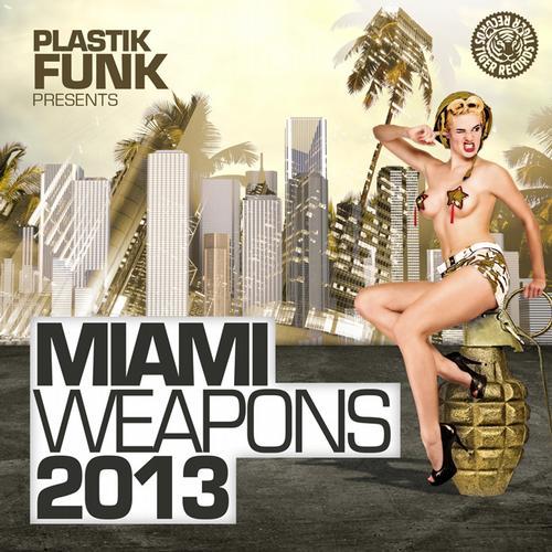 Album Art - Plastik Funk Pres. Miami Weapons 2013