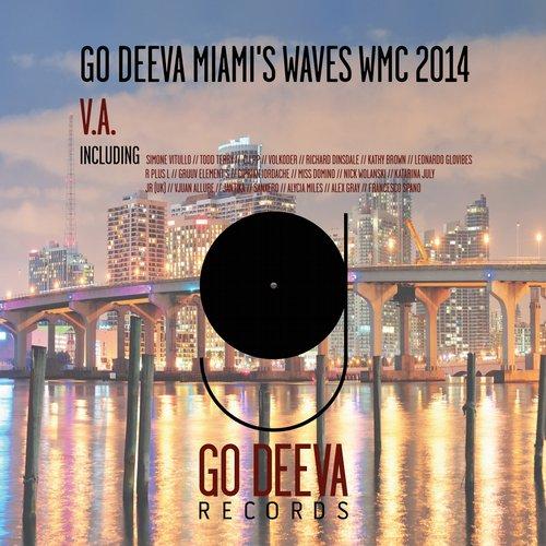 GO DEEVA MIAMI'S WAVES WMC 2014 Album Art