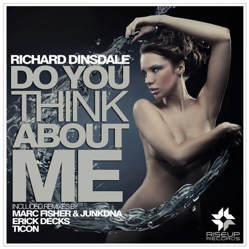 Album Art - Do You Think Abut Me - The Remixes