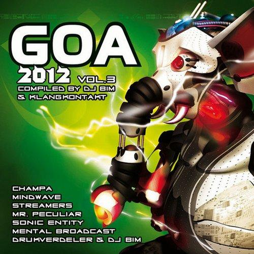 Goa 2012, Vol. 3 Album Art