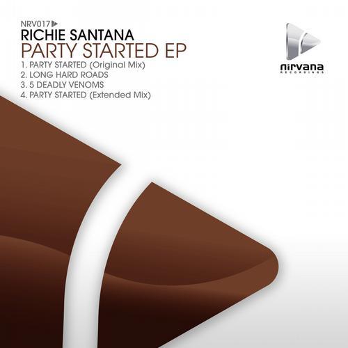 Album Art - Richie Santana - Party Started EP