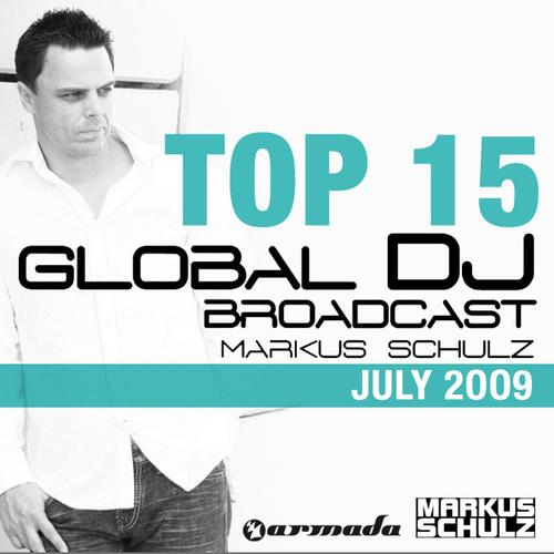 Album Art - Global DJ Broadcast Top 15 - July 2009