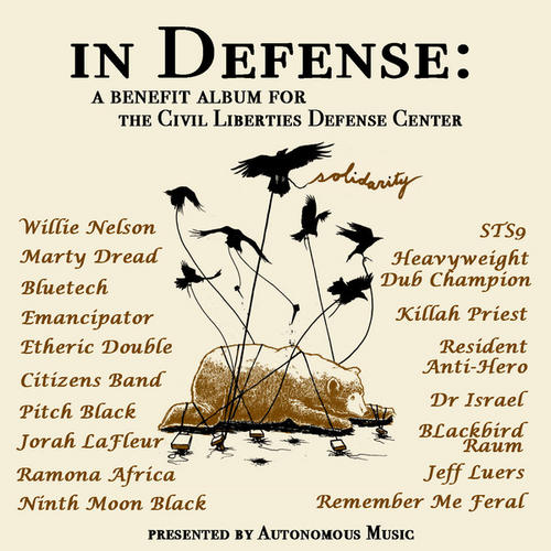 Album Art - In Defense: Vol. 1 - A Benefit Album For The Civil Liberties Defense Center