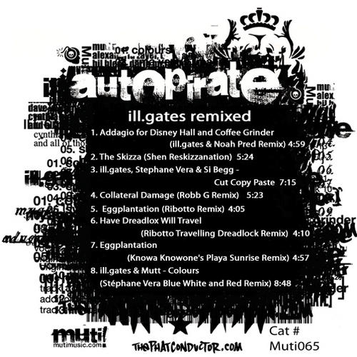 Album Art - Autopirate Remixed
